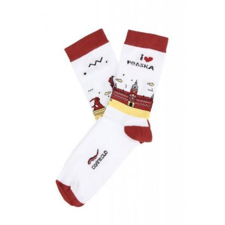 Skarpety Warsaw Socks - zamek