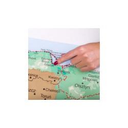 Mapa Odkrywcy - Polska -...