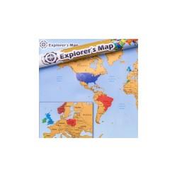Mapa Odkrywcy - Świat (EN)...