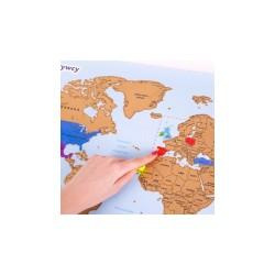 Mapa Odkrywcy - Świat (PL)...