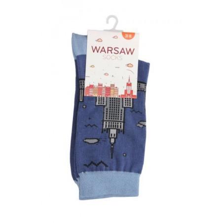 Skarpety Warsaw Socks - granatowe