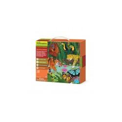 Puzzle 3D - Dżungla