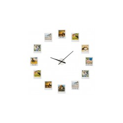 Zegar z ramkami na zdjęcia...