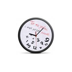Zegar dla spóźnialskich...