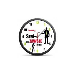 Zegar dla szefa - cichy...