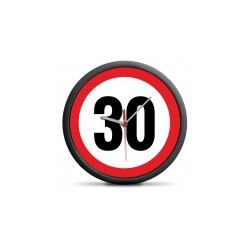 Zegar urodzinowy 30 -...