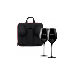 Etui na wino z kieliszkami...