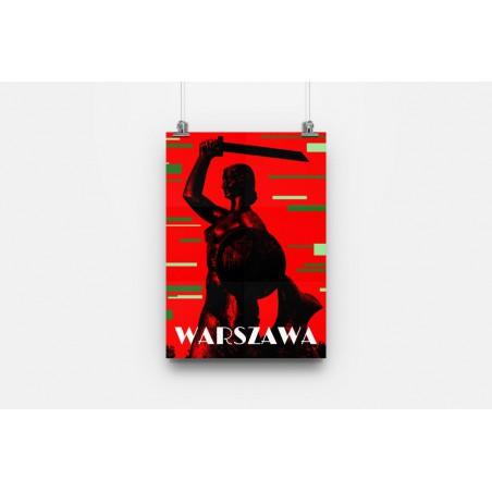 Plakat Syrenka Warszawa -...