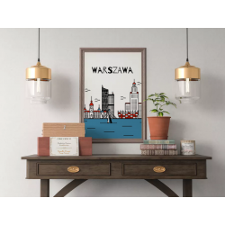 Plakat WWA design - 30x40 cm