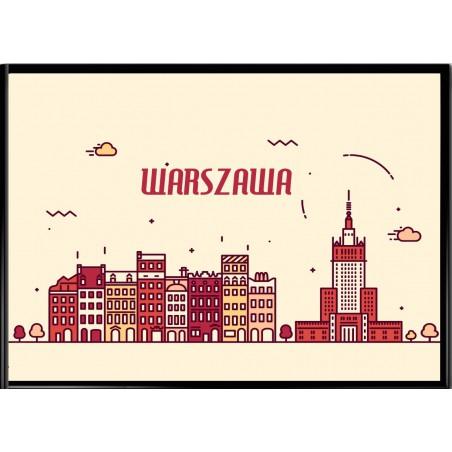 Grafika Warszawy